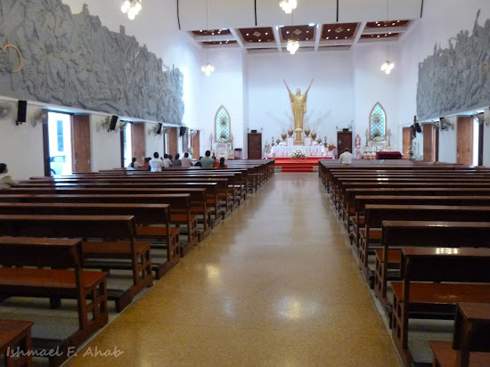 Interior of Holy Redeemer Church, Bangkok