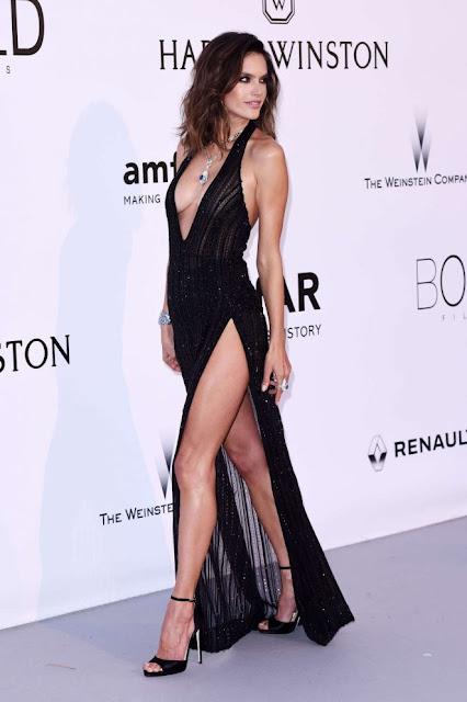 Alessandra Ambrosio – amfAR's 24th Cinema Against AIDS Gala in Cannes