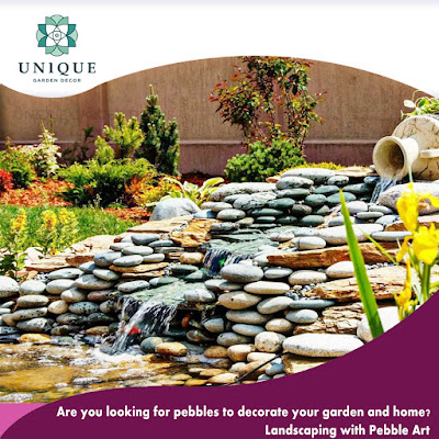 pebble gardening