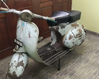Dijual Vespa VNB 6 th 1966 125cc