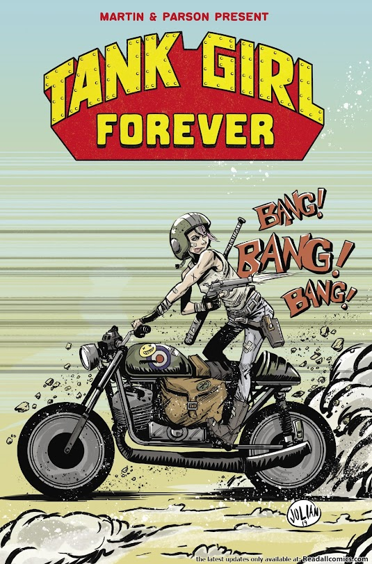 Tank Girl Forever by Martin and Parson