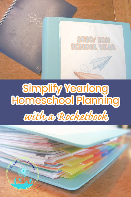 How to Plan Your Homeschool with a Combination of Technology and Paper