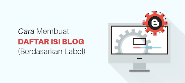 Membuat Daftar Isi Keren dan Responsif Berdasarkan Category/Label