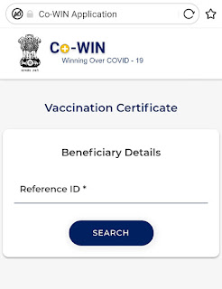 COVID-19 VACCINATION CERTIFICATE DOWNLOAD LINK