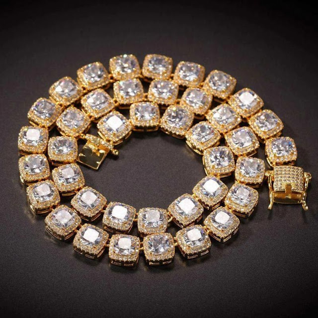 Helloice hip hop jewelry chain