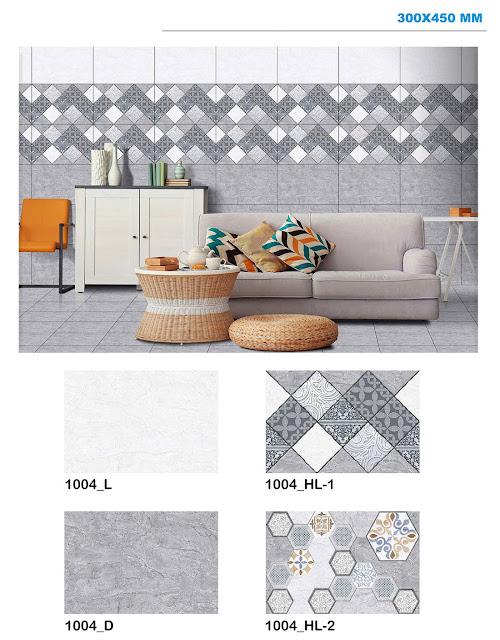 Digital Wall Tiles for Living Room