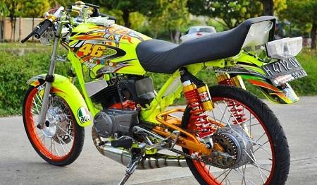 modifikasi motor yamaha rx king terbaru