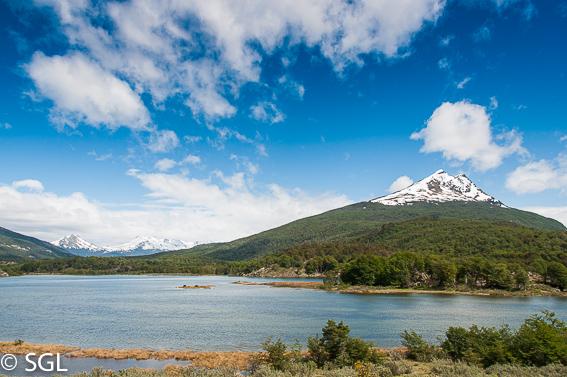 Excursion al parque nacional tierra del fuego. Argentina