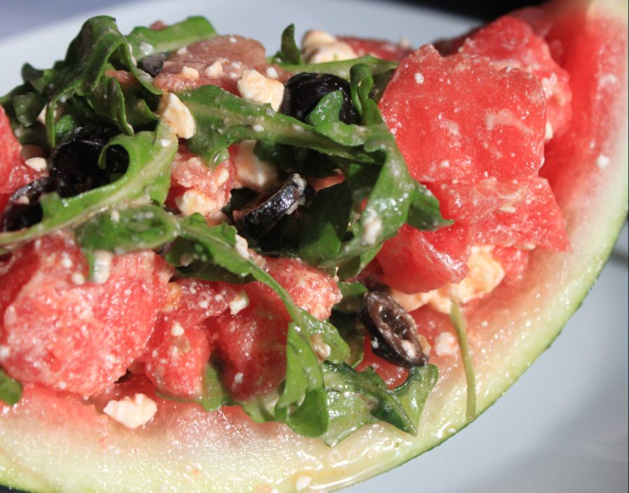 Hawaiianischer Melonensalat