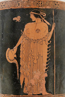 Technically, I guess this is Athena with her owl, but she's essentially the same entity as MINERVA