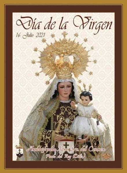 Cartel Nuestra Señora del Carmen de Prado del Rey 2021