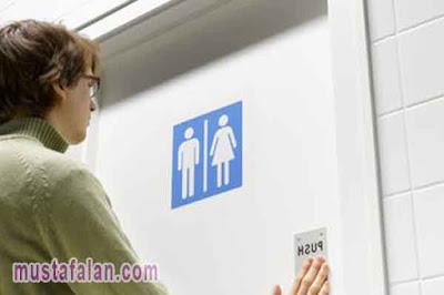 doa masuk kamar mandi arab latin dan artinya