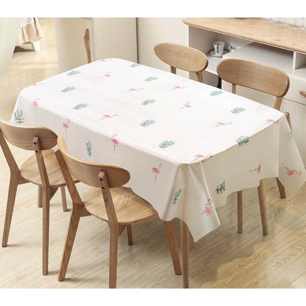 Khăn trải bàn ăn chống thấm phong cách Hàn Quốc