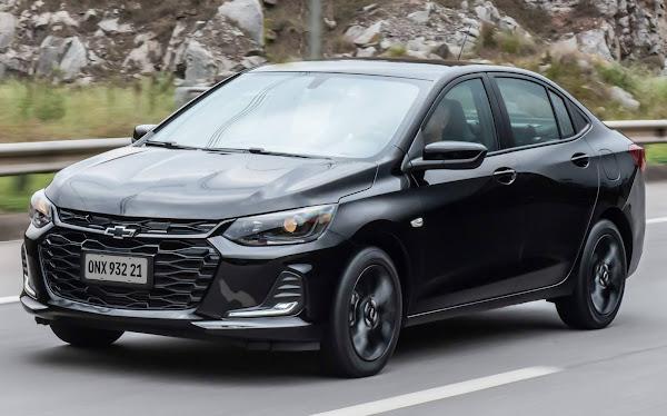 Chevrolet Onix Plus Midnight inaugura linha 2021