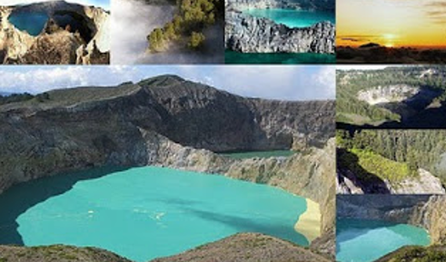 Gunung kalimutu – Nusa Tenggara Timur