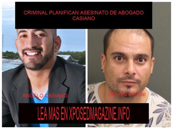 CRIMINAL PLANIFICA ASESINATO DE ABOGADO CASIANO
