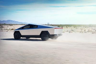 Cybertruck da Tesla, um SUV da Aston Martin e mais notícias sobre carros nesta semana