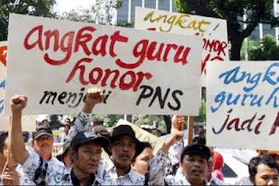 988 Ribu Guru Honorer Harus Diangkat CPNS