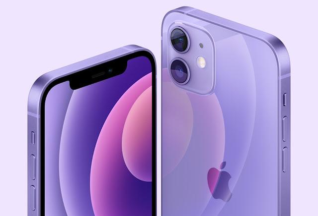 أبل تقدم أيفون 12 و iPhone 12 mini في لون بنفسجي جديد