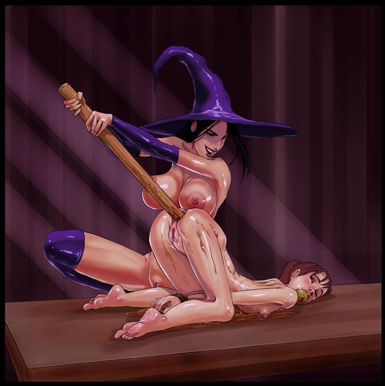 A bruxa negra de Westbrook
