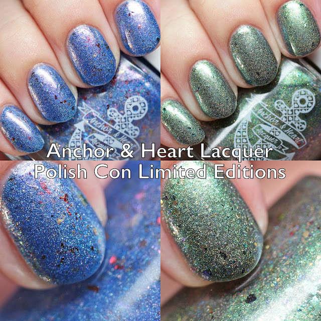 Anchor & Heart Lacquer Polish Con New York 2018 Limited Editions