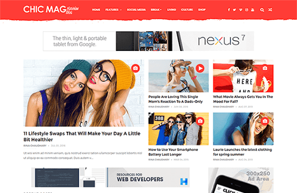 Best Blogger Templates • Free Download • Blogging Themes