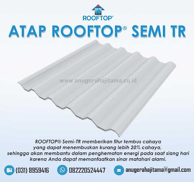 Atap Rooftop Semi TR Transparan