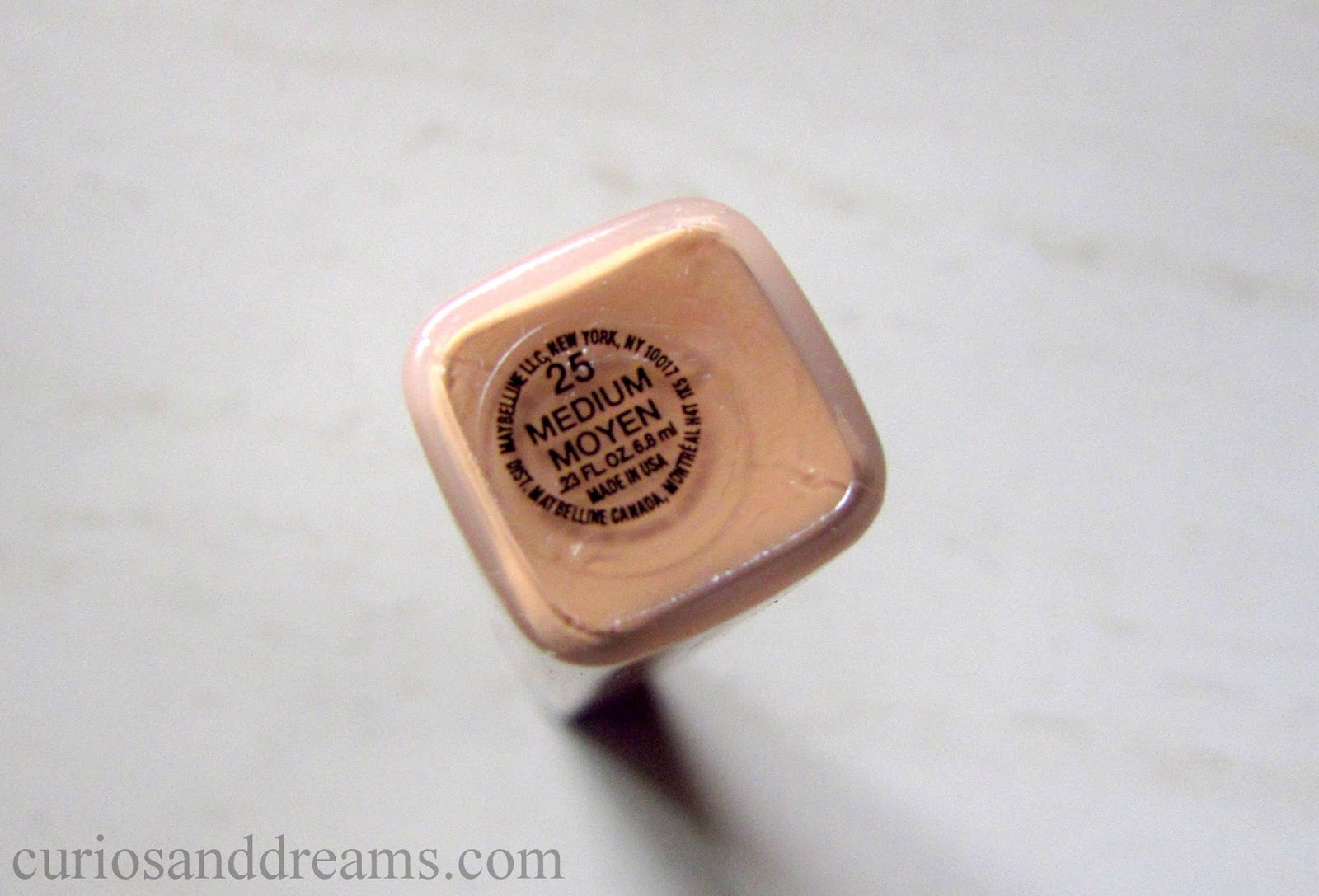 Curios And Dreams Makeup Beauty Product Reviews Maybelline Fit Me Concealer Review