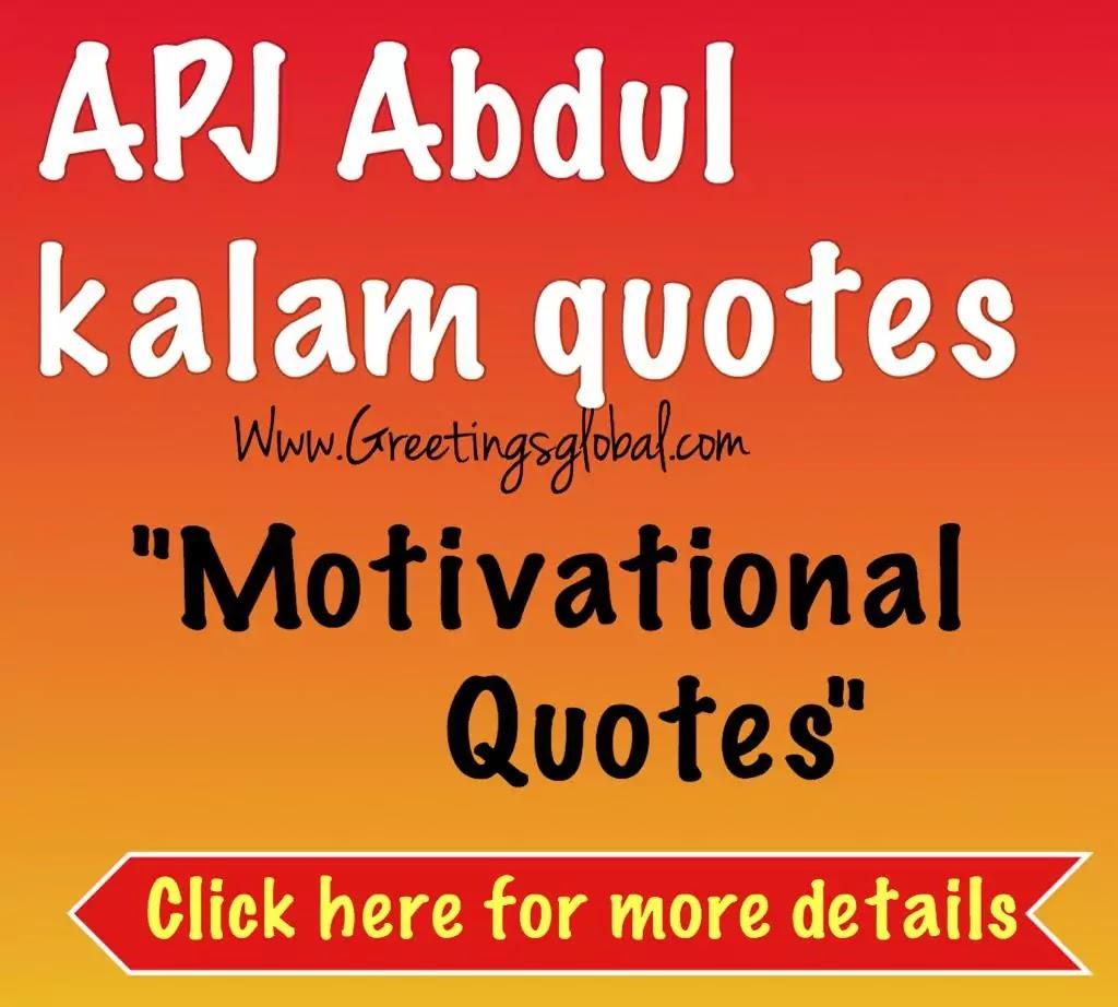 APJ Abdul kalam Quotes-Motivational Quotes