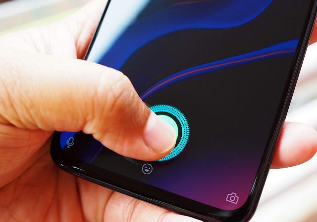 one plus 6t sensor de huella digital en pantalla
