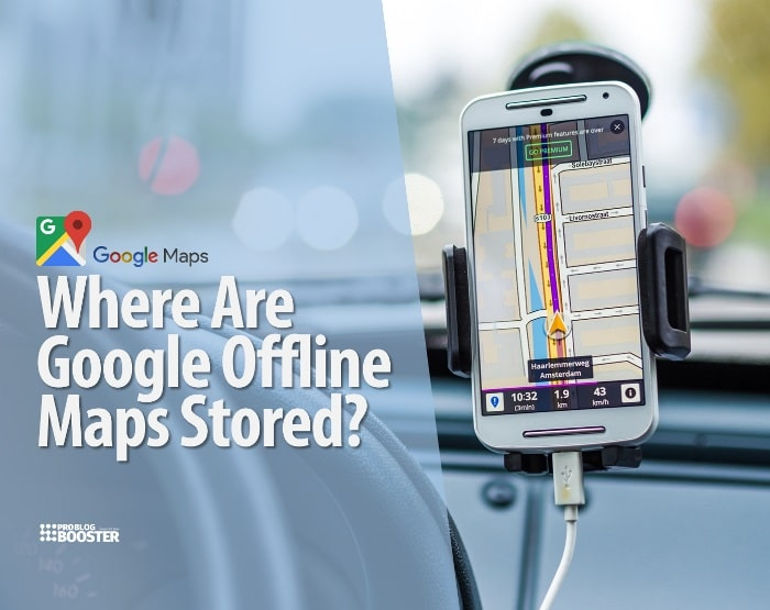 Google Maps Where Are Google Offline Maps Stored