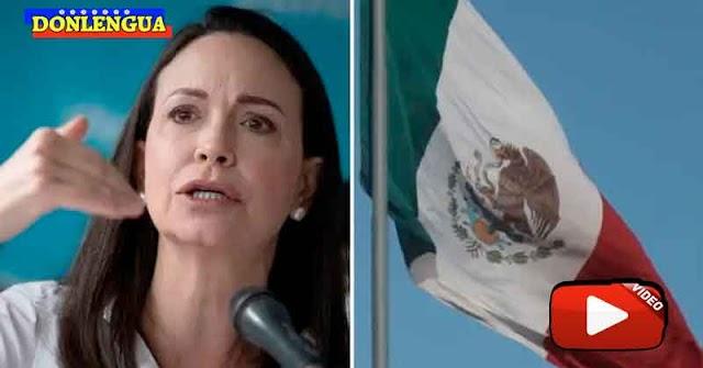 María Corina Machado dice que la mayoría de los venezolanos no quiere negociaciones con Maduro