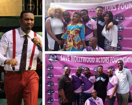 save nollywood actors foundation