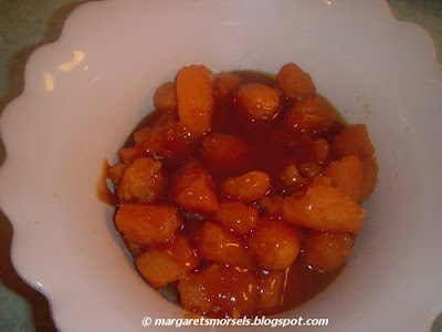 Margaret's Morsels | Quick and Easy Candied Sweet Potatoes