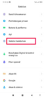 Cara Mengaktifkan Menu Aksesibilitas Xiaomi