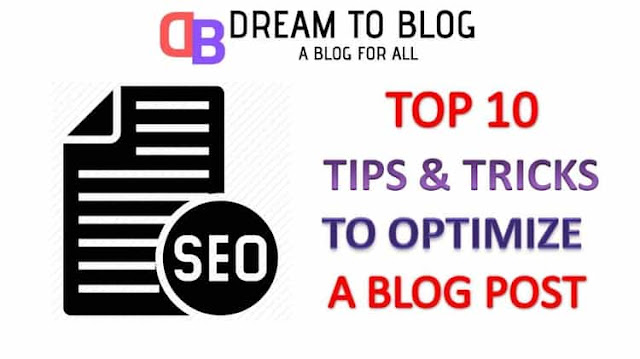 Top 10 Best Tips To Optimize You Blog Posts For Higher Search Engine Rankings