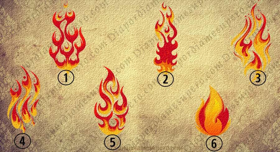Test: Elige  una llama de fuego y descubre con qué luz brillas