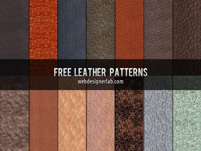 Free Leather Patterns, photoshop patterns