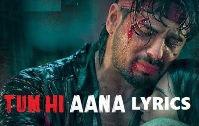 Tum Hi Aana Lyrics | Jubin - Payal Dev | Marjaavaan