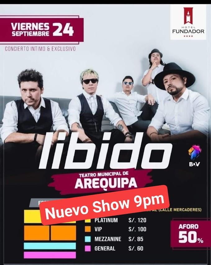 Libido en Arequipa 2021 - 24 de setiembre
