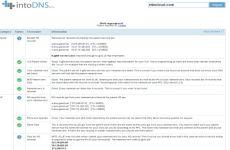 IntoDNS: sitio web que permite conocer el estado de los DNS de cualquier sitio web