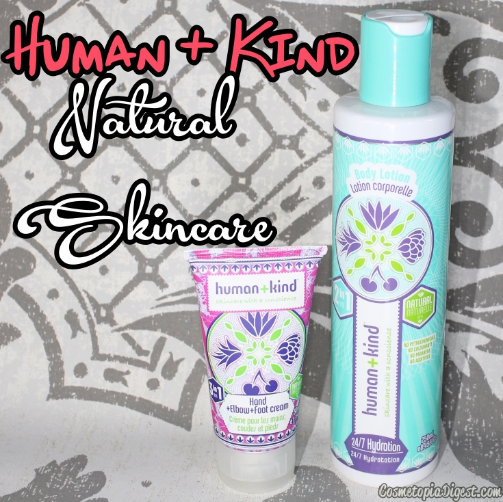 Human+Kind Skincare: Body Lotion, Cleansing Cloths, Hand and Foot Cream