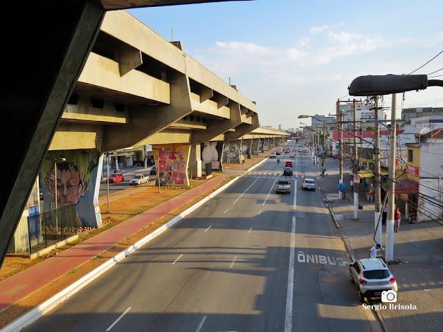 Vista de trecho da Avenida Cruzeiro do Sul - Santana - São Paulo