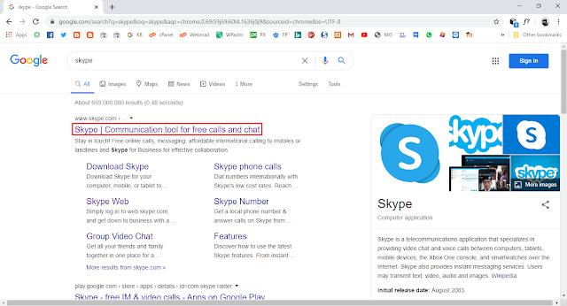 Langkah-langkah melakukan teleconference dengan skype web