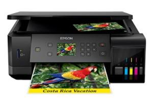 Imprimante Pilotes Epson EcoTank 7700 Télécharger