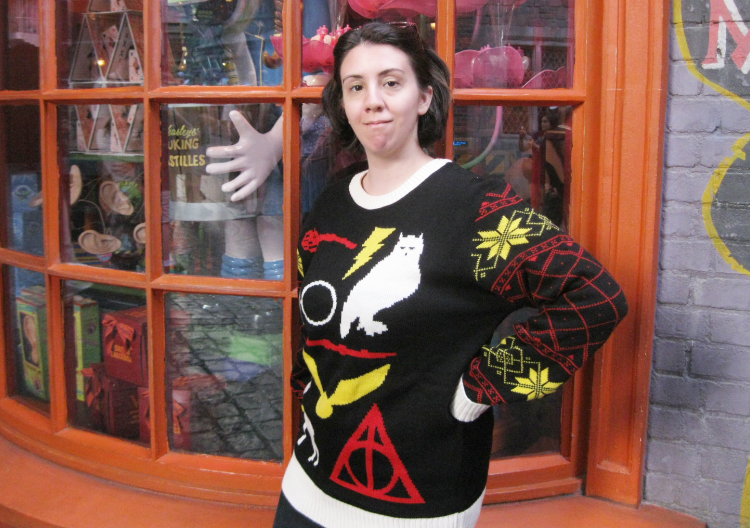 harry potter ugly christmas sweater - Harry Potter Ugly Christmas Sweater