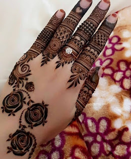 Simple henna Mehndi designs pictures and photos