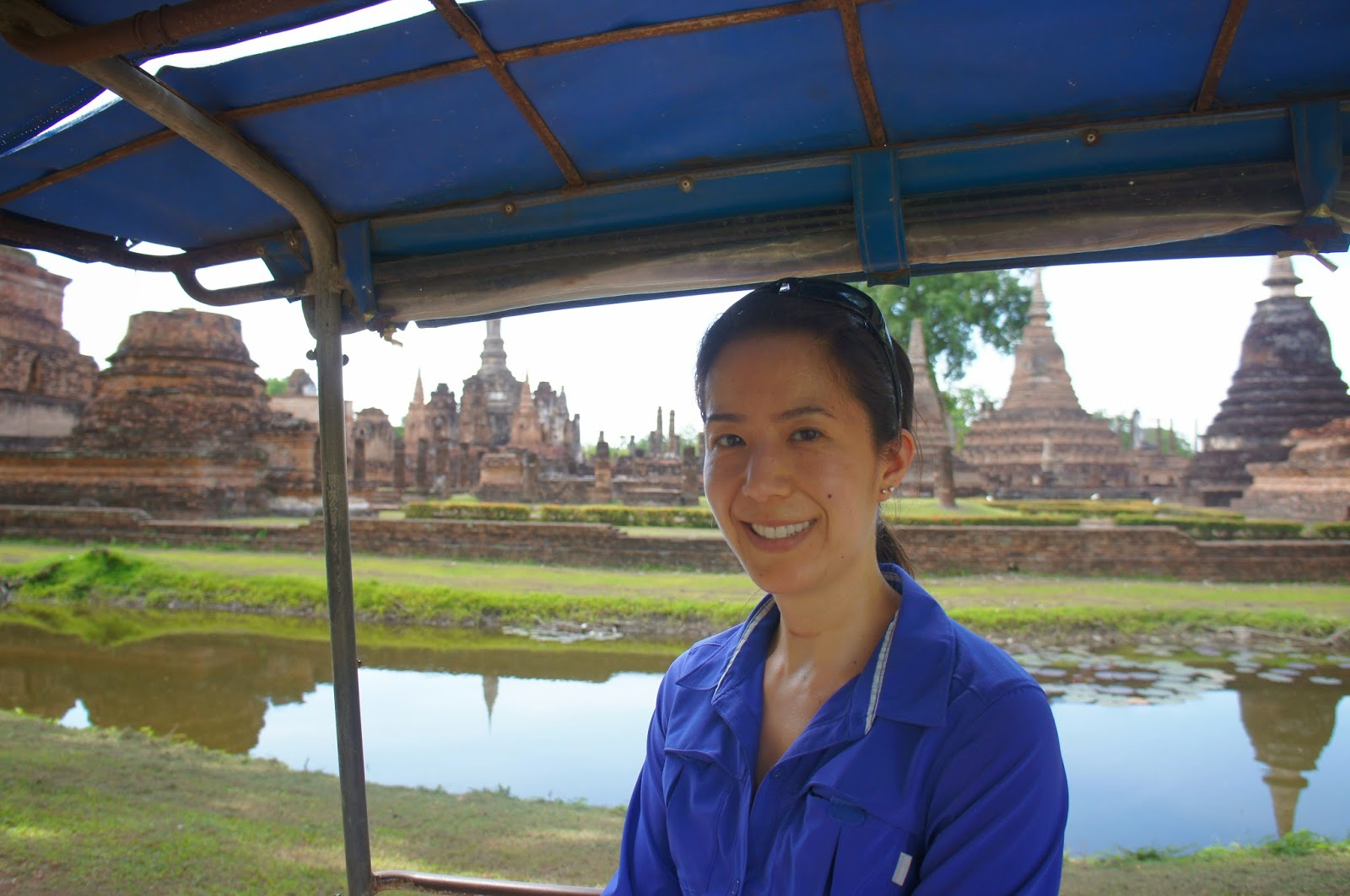 Old Sukhothai - Wrapping up our day