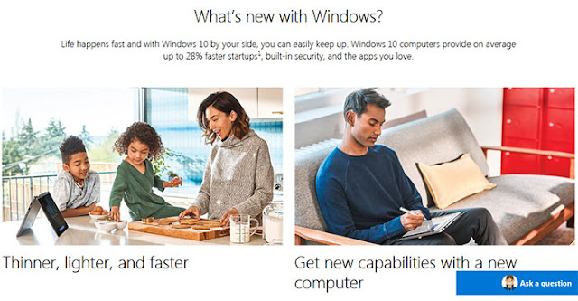What's new with Windows: eAskme