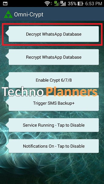 How to Decrypt Whatsapp Database Crypt8 without Key Online